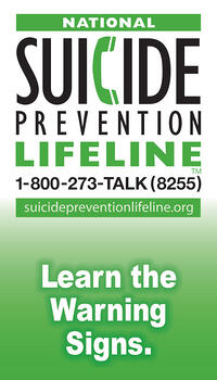 LMCT Suicide Prevention Wallet Card - English
