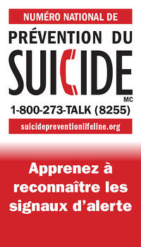 LMCT Suicide Prevention Wallet Card - French