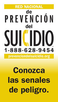 LMCT Suicide Prevention Wallet Card - Spanish