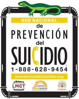 Suicide Prevention Hardhat Sticker - Spanish