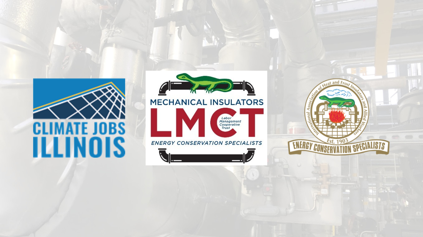 Insulators LMCT joins forces with Illinois Locals to Join Climate Jobs Illinois